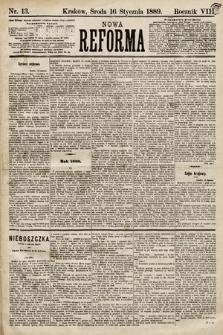 Nowa Reforma. 1889, nr13