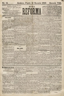 Nowa Reforma. 1889, nr15
