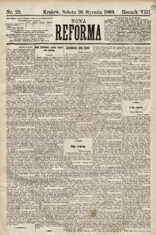 Nowa Reforma. 1889, nr22