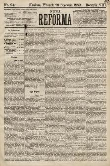 Nowa Reforma. 1889, nr24