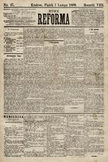 Nowa Reforma. 1889, nr27