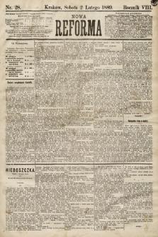 Nowa Reforma. 1889, nr28