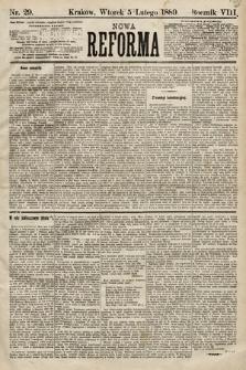 Nowa Reforma. 1889, nr29
