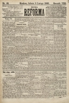 Nowa Reforma. 1889, nr33