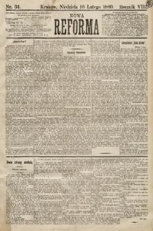 Nowa Reforma. 1889, nr34