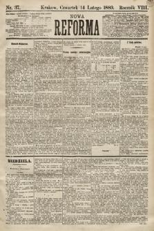 Nowa Reforma. 1889, nr37
