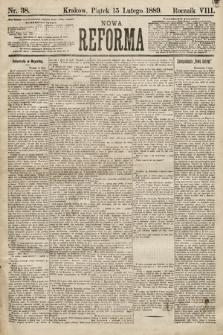 Nowa Reforma. 1889, nr38