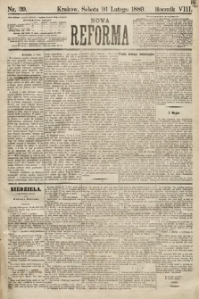 Nowa Reforma. 1889, nr39