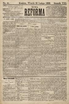 Nowa Reforma. 1889, nr41