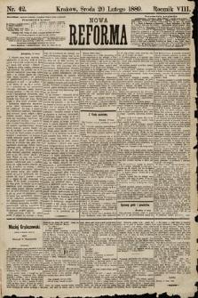 Nowa Reforma. 1889, nr42
