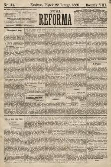 Nowa Reforma. 1889, nr44