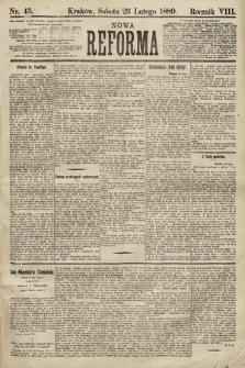 Nowa Reforma. 1889, nr45