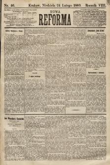 Nowa Reforma. 1889, nr46
