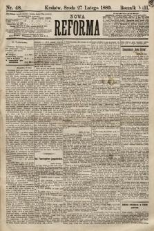 Nowa Reforma. 1889, nr48