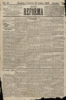 Nowa Reforma. 1889, nr49