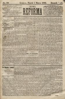 Nowa Reforma. 1889, nr50