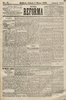 Nowa Reforma. 1889, nr51