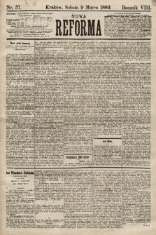 Nowa Reforma. 1889, nr57