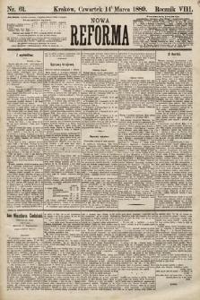 Nowa Reforma. 1889, nr61