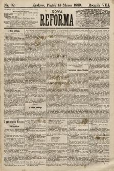 Nowa Reforma. 1889, nr62