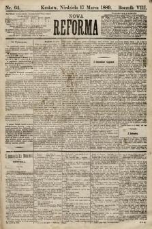 Nowa Reforma. 1889, nr64