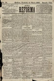Nowa Reforma. 1889, nr70