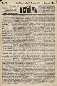 Nowa Reforma. 1889, nr71