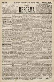 Nowa Reforma. 1889, nr72
