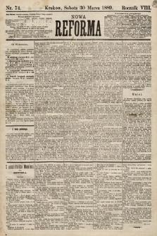 Nowa Reforma. 1889, nr74