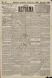 Nowa Reforma. 1889, nr78