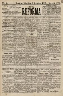 Nowa Reforma. 1889, nr81