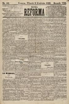 Nowa Reforma. 1889, nr82