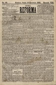 Nowa Reforma. 1889, nr83