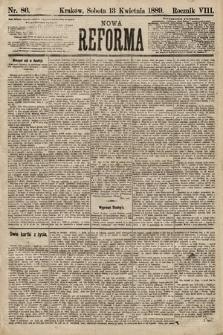 Nowa Reforma. 1889, nr86
