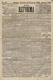 Nowa Reforma. 1889, nr87