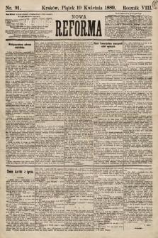 Nowa Reforma. 1889, nr91