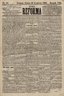 Nowa Reforma. 1889, nr92