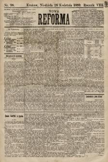 Nowa Reforma. 1889, nr98