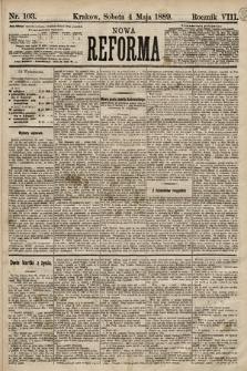 Nowa Reforma. 1889, nr103