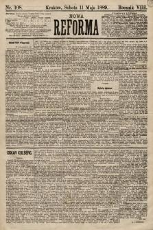 Nowa Reforma. 1889, nr108