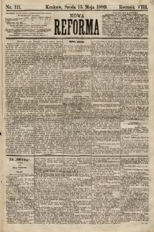 Nowa Reforma. 1889, nr111