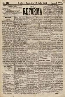 Nowa Reforma. 1889, nr112