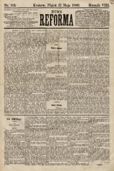 Nowa Reforma. 1889, nr113