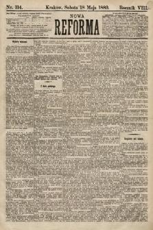 Nowa Reforma. 1889, nr114