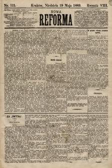 Nowa Reforma. 1889, nr115