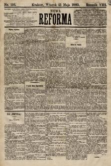 Nowa Reforma. 1889, nr116