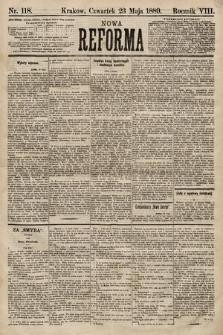 Nowa Reforma. 1889, nr118