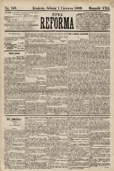 Nowa Reforma. 1889, nr125