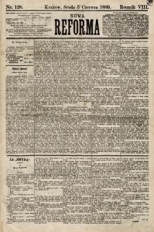 Nowa Reforma. 1889, nr128