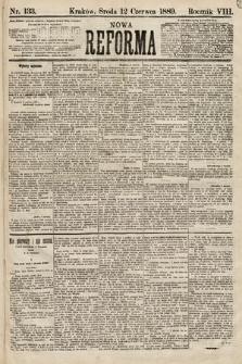 Nowa Reforma. 1889, nr133